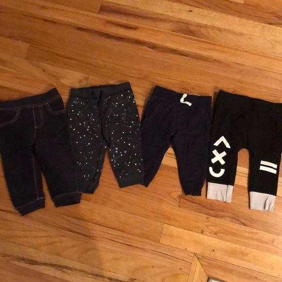Other - 4 pairs of boys sz 6-9mo sweatpants